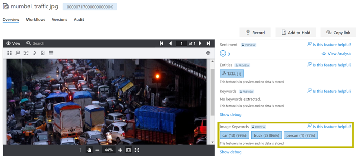 Collabspace-objection-detection-screenshot