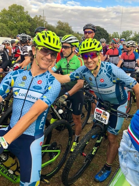 Collabware Team Competes in South Africa's Cape Epic Bike Race