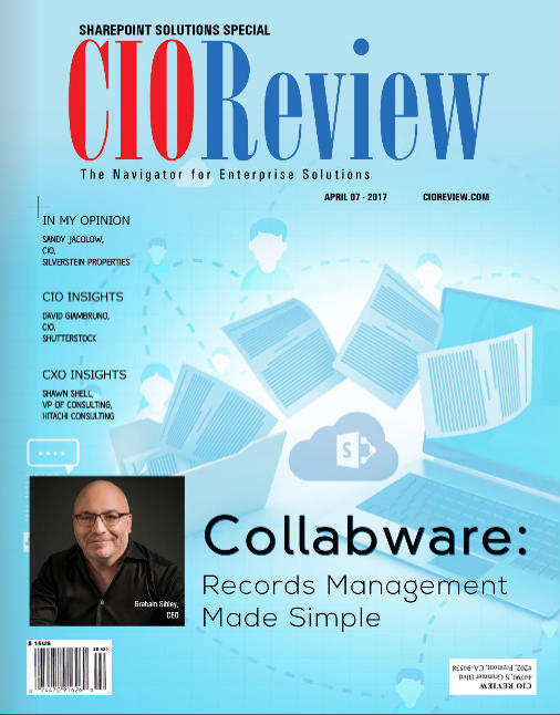 Collabware Makes the Cover of CIOReview Magazine