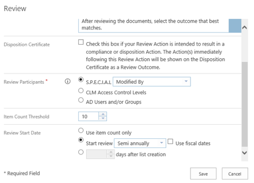 Review Document Action Workflow Collabware CLM