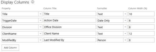 Metadata Columns