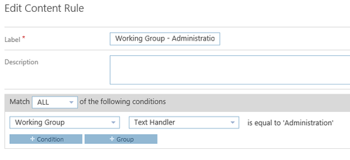 Content Rule Setup in Collabware CLM