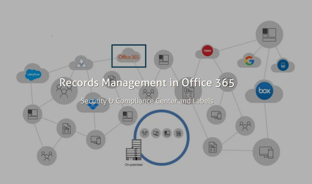 Records Management in O365: Labels
