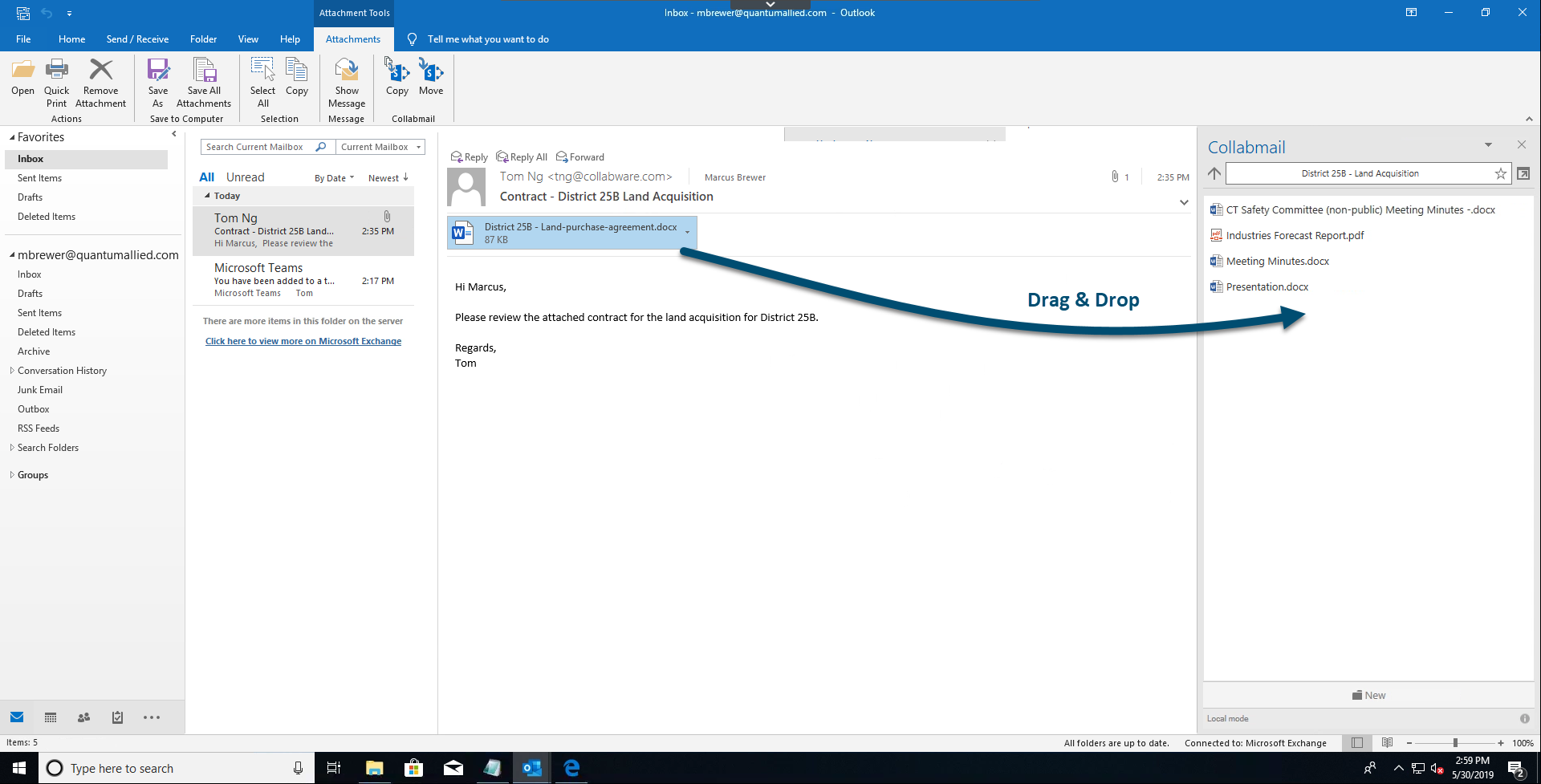 Bridging the Gap Between Microsoft Teams, SharePoint & Outlook
