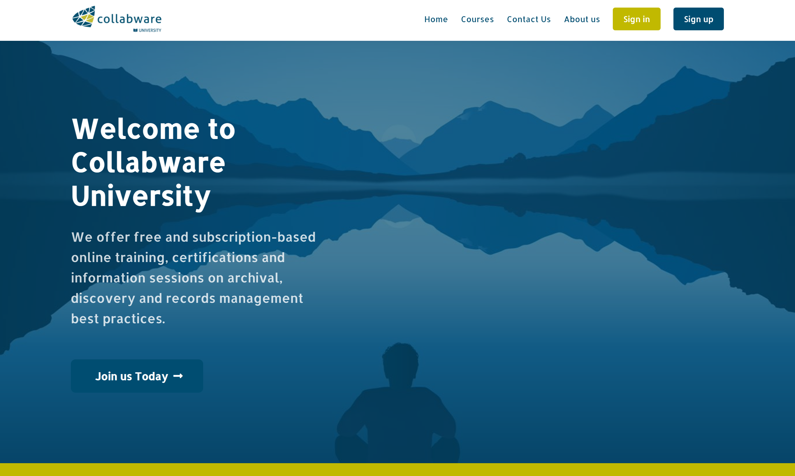 Collabware University Home Page